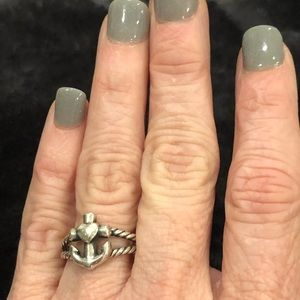 Janes Avery Faith Hope Love twisted rope ring
